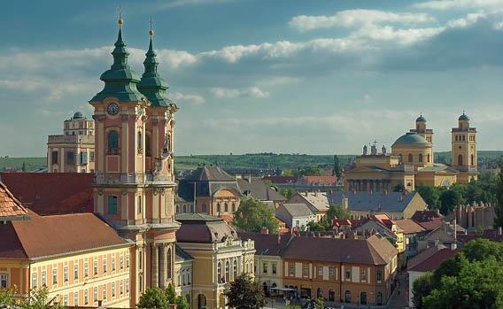 Город Эгер, северная Венгрия